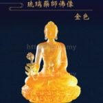 Golden Glazed Medicine Buddha Statue
