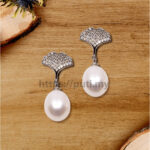 925银珍珠耳环