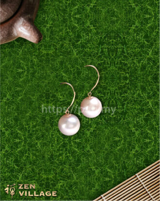 18k珍珠耳环