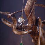 祖母绿珍珠项链